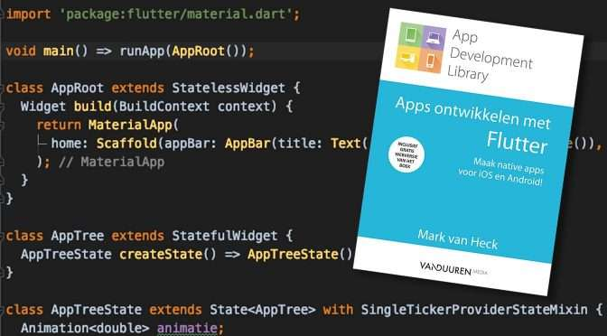 Apps programmeren in Flutter-3