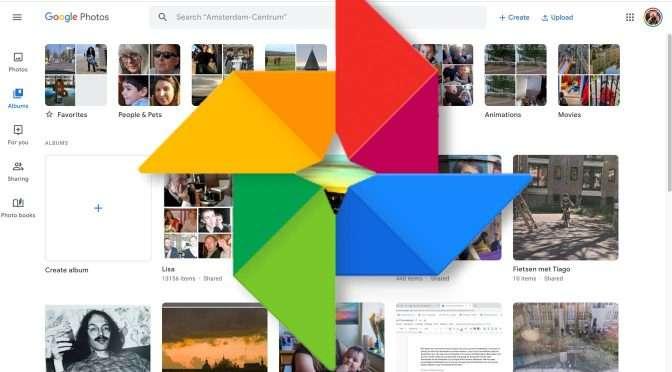 Foto's delen met Google Foto's