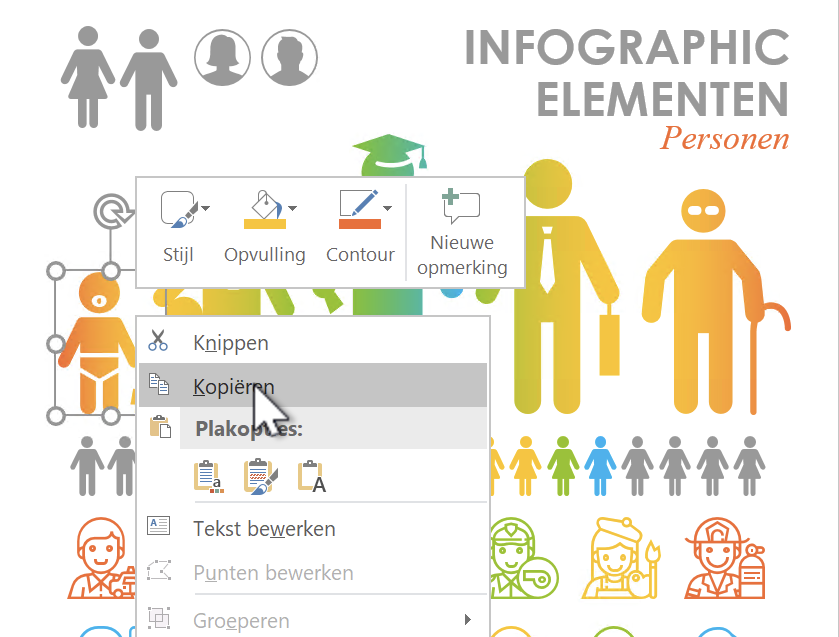 infographics maken met PowerPoint