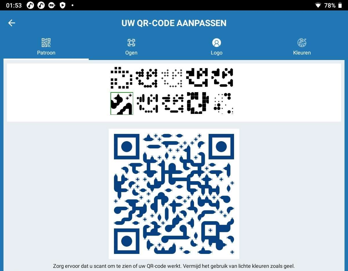 een QR-code maken