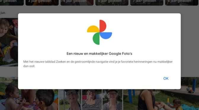 Nieuwe interface van Google Foto's: geen vooruitgang