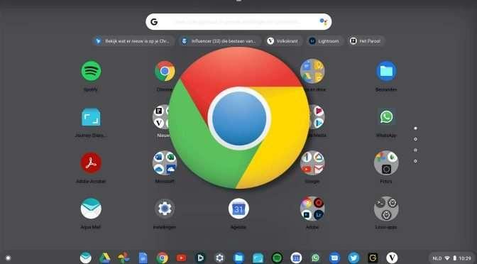 Zoeken op en met je Chromebook