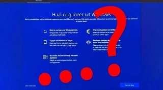 Wég met Windows advertenties