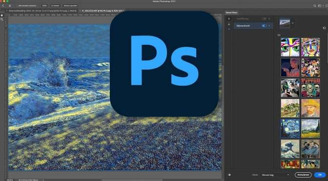Photoshop 2021: Neural filters gebruiken