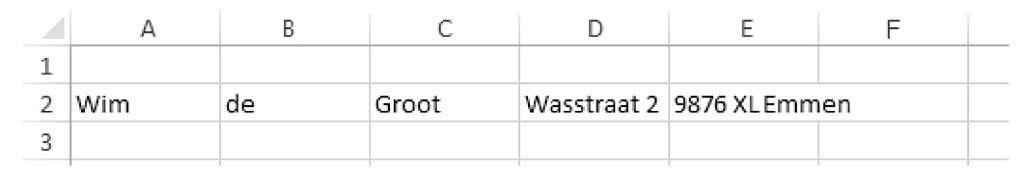 lijsten bijhouden met Excel