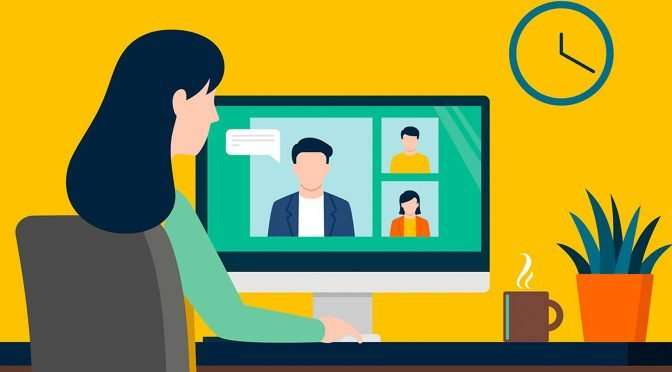 Interview: Effectief thuiswerken en online vergaderen