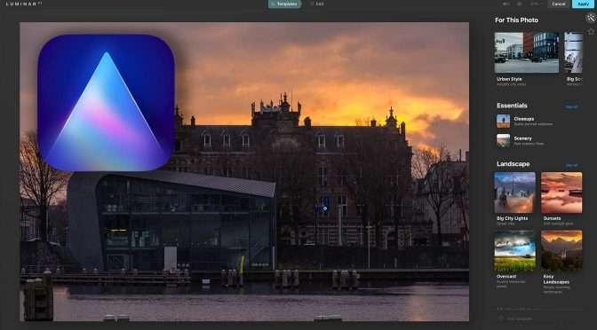 Luminar AI: kunstmatige intelligentie voor het ontwikkelen van je foto's