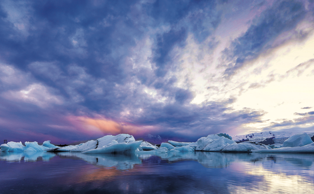 Gebruik wolken in landschapsfotografie