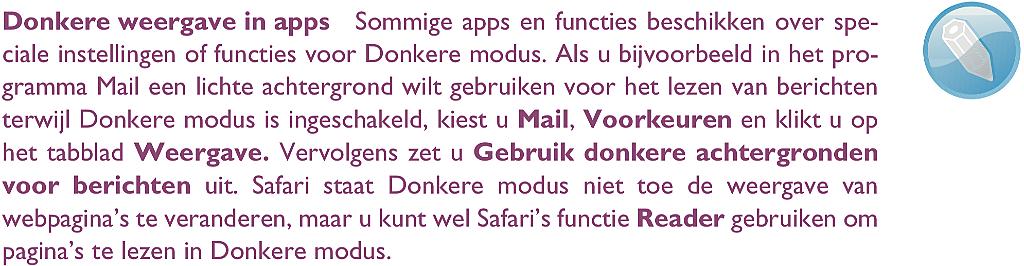 het bureaublad van macOS