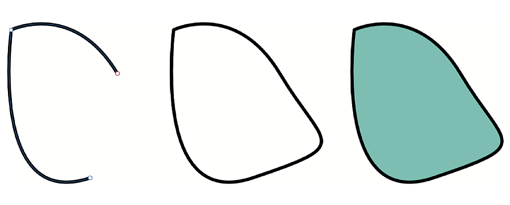 Paden en lijnen tekenen in Affinity Designer