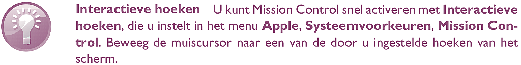macOS Big Sur Mission Control